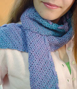 Loom Knit Scarf - Simplicity Creative Group