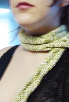 Easy Scarf Knitting Pattern - Knitting On The Net/Knit A Bit